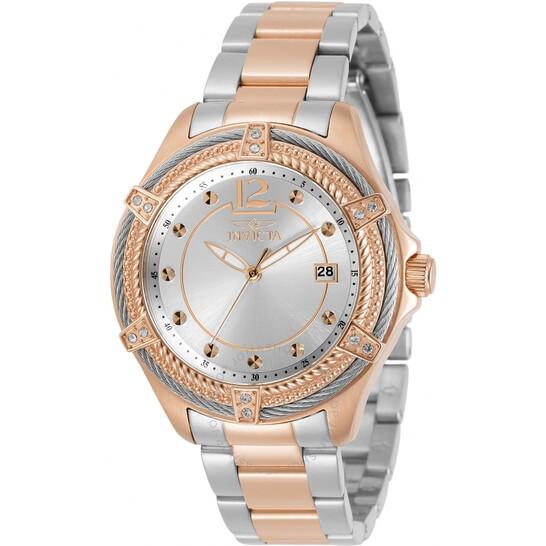 Invicta Bolt Quartz Silver Dial Two-tone Ladies Watch 30883 | Joma Shop