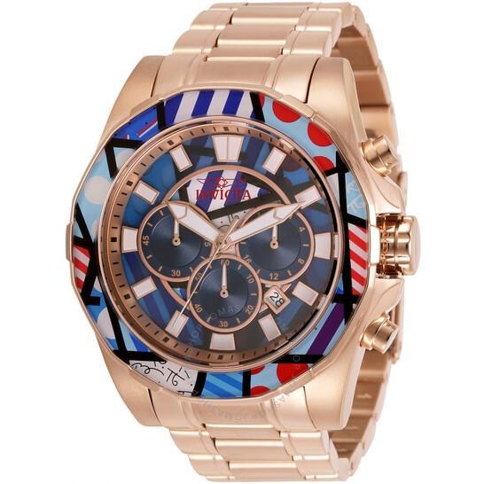 Invicta Britto Chronograph Quartz Britto Pattern Dial Men's Watch (32401)