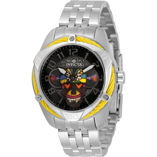 Invicta Britto Quartz Black Dial Ladies Watch (33524)