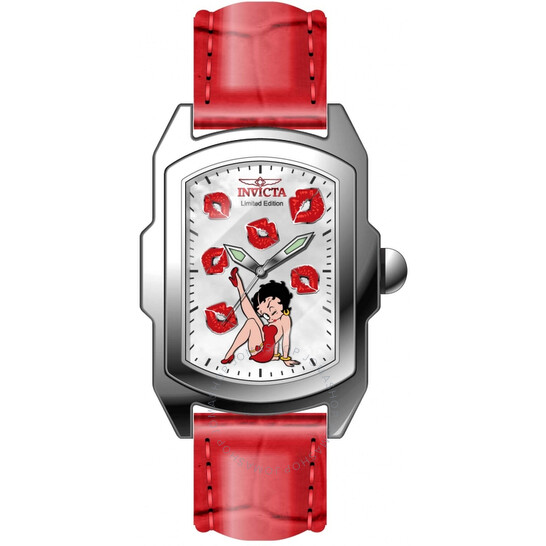 Invicta Character Collection Betty Boop Quartz White Dial Ladies Watch 32794 | Joma Shop