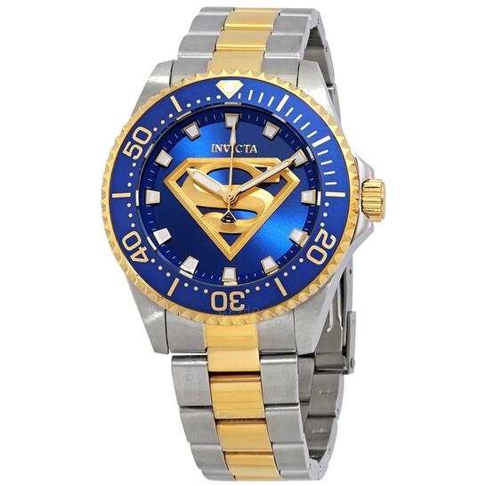 Invicta DC Comics Superman Quartz Blue Dial Men's Watch 29690 | Joma Shop