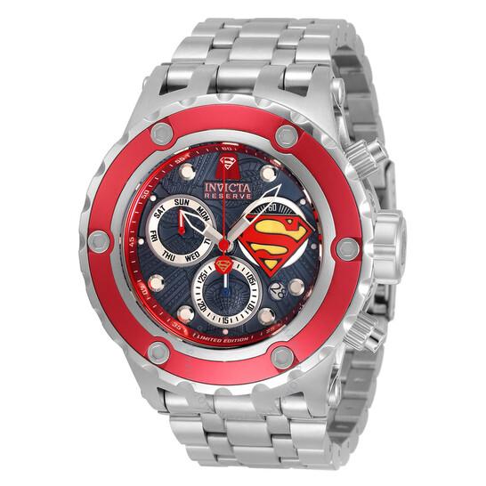 Invicta DC Comics Superman Limited Edition Chronograph Quartz Men's Watch 33815 | Joma Shop