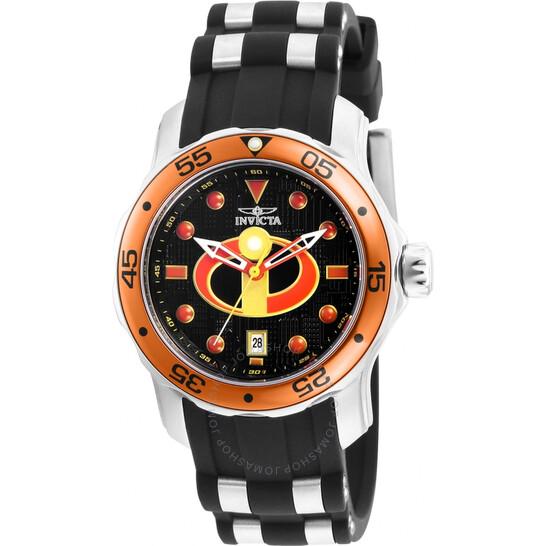 Invicta Disney Limited Edition Incredibles Quartz Black Dial Ladies Watch 26855   Joma Shop