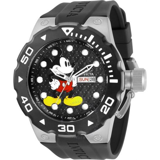 Invicta Disney Limited Edition Quartz Black Dial Men's Watch 30790 | Joma Shop