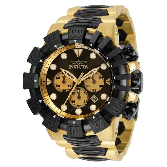 Invicta Excursion Chronograph Quartz Black Dial Men's Watch 32376 | Joma Shop