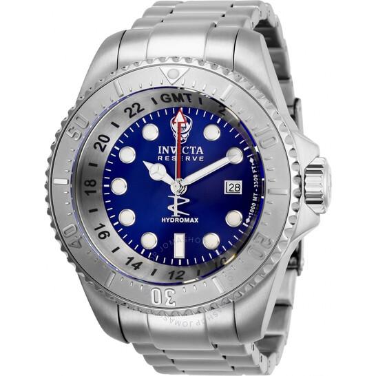 Invicta Hydromax Quartz Blue Dial Men's Watch 29727   Joma Shop