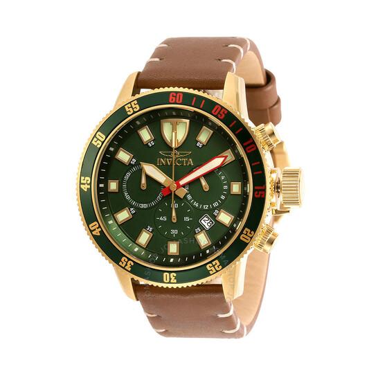 Invicta I-Force Chronograph Quartz Green Dial Men's Watch 31398   Joma Shop