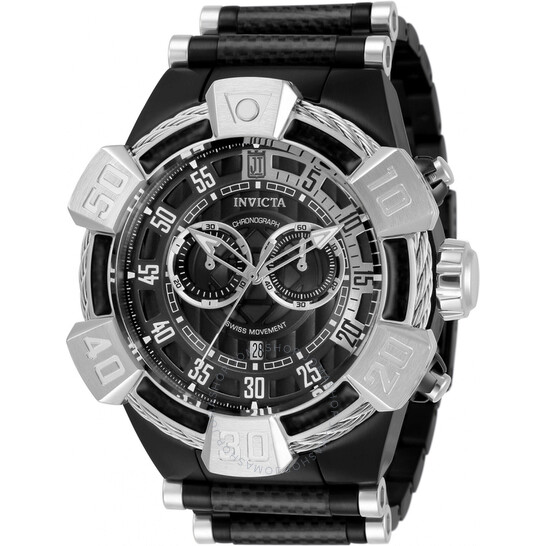Invicta Jason Taylor Chronograph Quartz Black Dial Men's Watch 32830 | Joma Shop