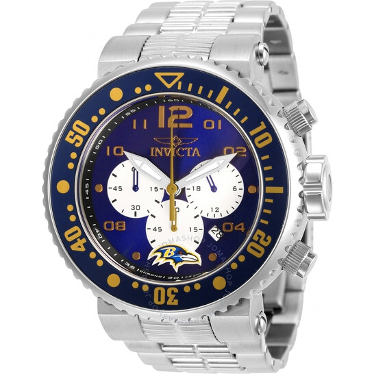 Invicta NFL Baltimore Ravens Chronograph Quartz Men's Watch 30257 | Joma Shop
