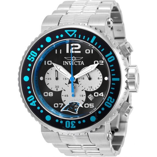 Invicta NFL Carolina Panthers Chronograph Quartz Men's Watch 30259 | Joma Shop