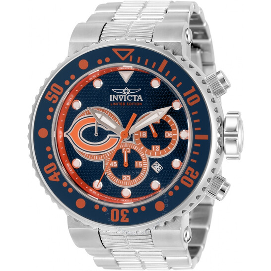 Invicta NFL Chicago Bears Chronograph Quartz Men's Watch 33120 | Joma Shop