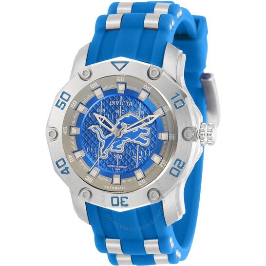 Invicta NFL  Detroit Lions Automatic Blue Dial Ladies Watch 32883   Joma Shop