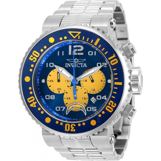 Invicta NFL Los Angeles Chargers Chronograph Quartz Men's Watch 30271   Joma Shop