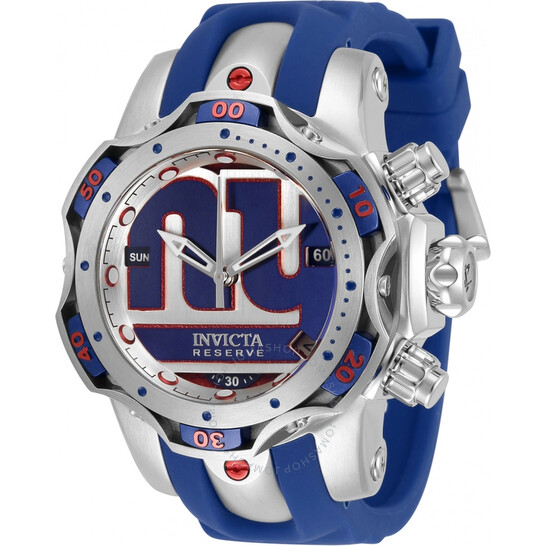 Invicta NFL New York Giants Chronograph Quartz Ladies Watch 33107   Joma Shop
