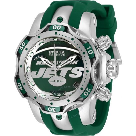 Invicta NFL New York Jets Chronograph Quartz Ladies Watch 33106   Joma Shop