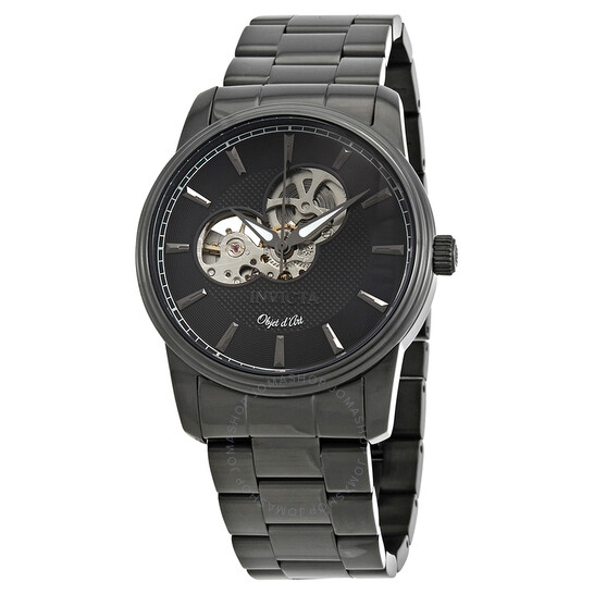 Invicta Objet D Art Automatic Black Dial Men's Watch 27564   Joma Shop