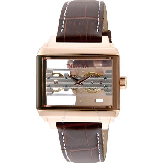 Invicta Objet D Art Hand Wind Rose Gold Dial Men's Watch 32172 | Joma Shop