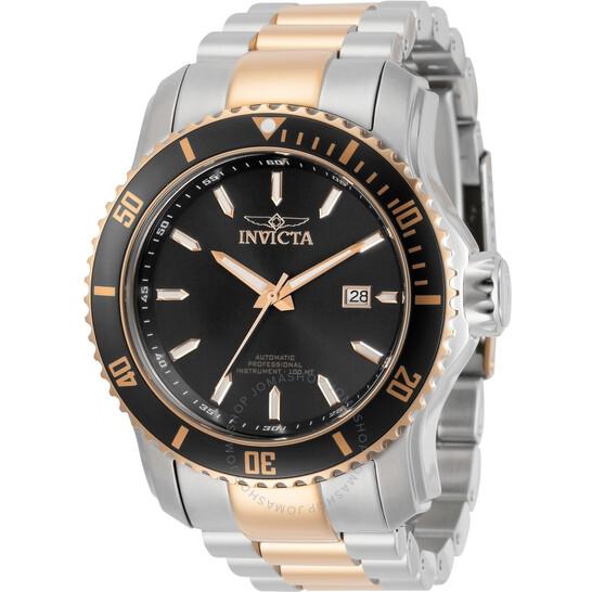 Invicta Pro Diver Automatic Black Dial Two-tone Men's Watch 30559 | Joma Shop