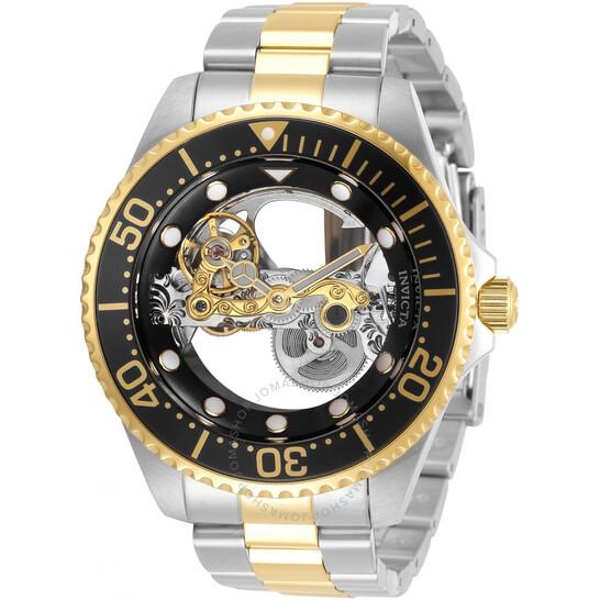 Invicta Pro Diver Automatic Black Dial Men's Watch 34449 | Joma Shop