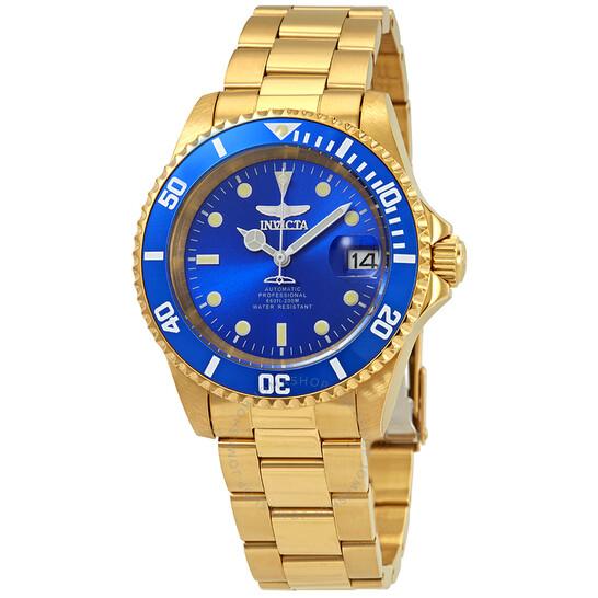 Invicta Pro Diver Automatic Blue Dial Men's Watch 24763   Joma Shop