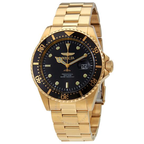 Invicta Pro Diver Black Dial Men's Watch 25717 | Joma Shop