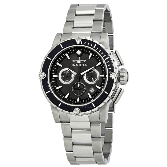 Invicta Pro Diver Black Dial Stainless Steel Men's Watch 15398   Joma Shop
