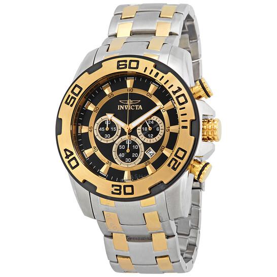 Invicta Pro Diver Chronograph Black Dial Men's Watch 22322 | Joma Shop