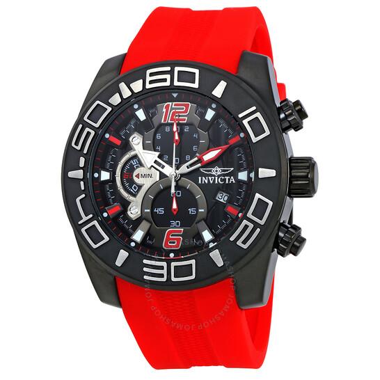 Invicta Pro Diver Chronograph Black Dial Men's Watch 22810 | Joma Shop