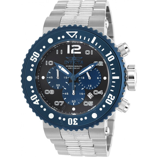 Invicta Pro Diver Chronograph Black Dial Men's Watch 25074   Joma Shop