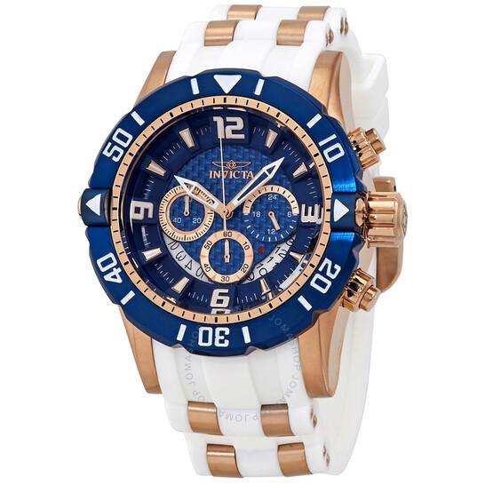 Invicta Pro Diver Chronograph Blue Dial Men's Watch 23709   Joma Shop