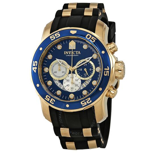 Invicta Pro Diver Chronograph Blue Dial Men's Watch 28723   Joma Shop