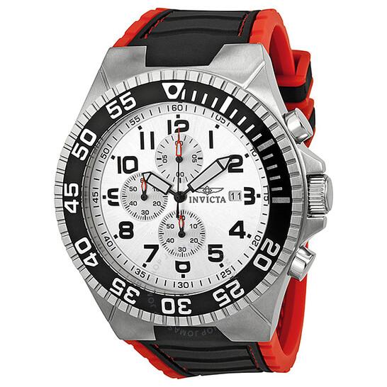 Invicta Pro Diver Chronograph Silver Dial Men's Watch 12411   Joma Shop
