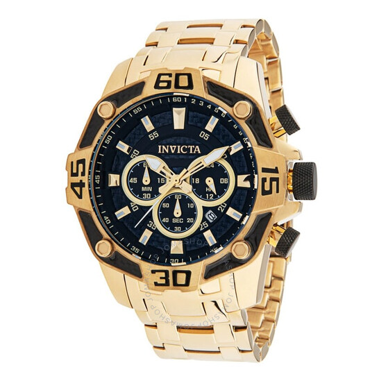 Invicta Pro Diver Chronograph Quartz Black Dial Men's Watch 33847   Joma Shop
