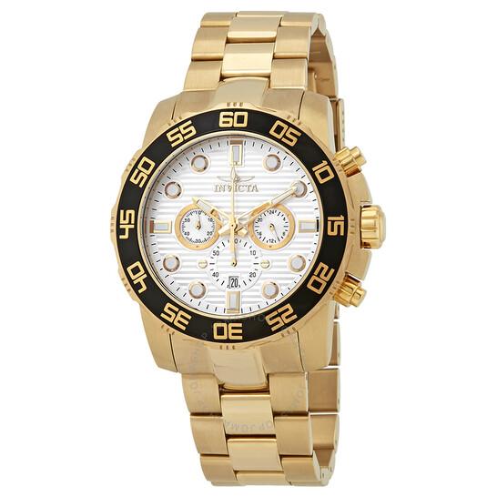 Invicta Pro Diver Chronograph Silver Dial Men's Watch 22229 | Joma Shop
