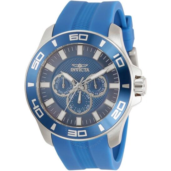 Invicta Pro Diver Quartz Blue Dial Men's Watch 30954   Joma Shop