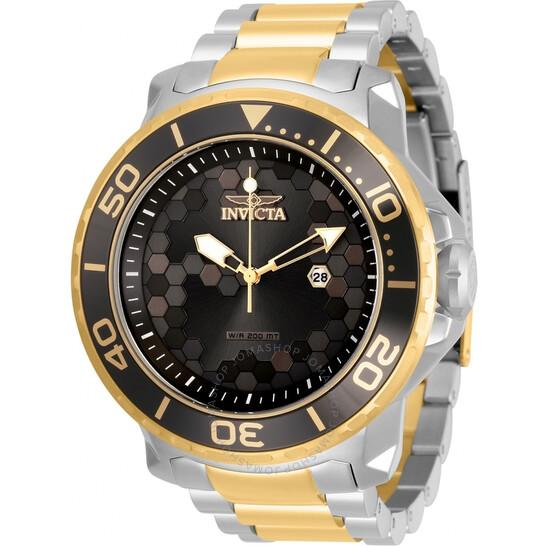 Invicta Pro Diver Quartz Black Dial Two-tone Men's Watch 30563 | Joma Shop