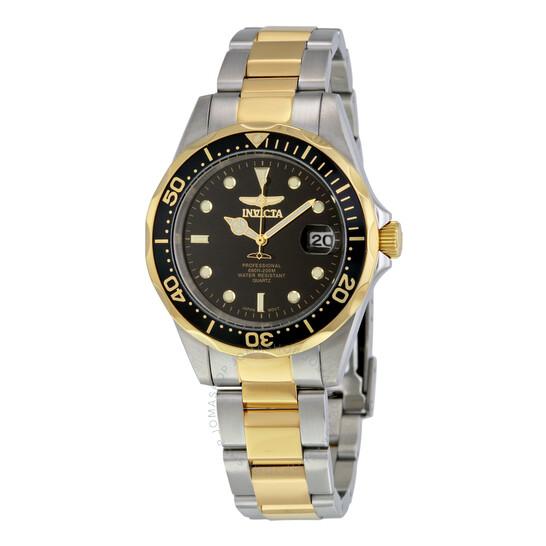 Invicta Pro Diver Black Dial Two-tone Men's Watch 8934 | Joma Shop