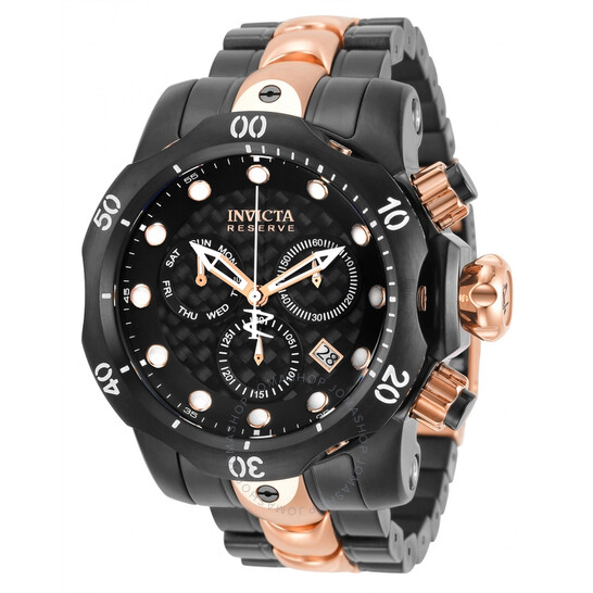 Invicta Reserve Chronograph Quartz Black Dial Men's Watch 32130 | Joma Shop