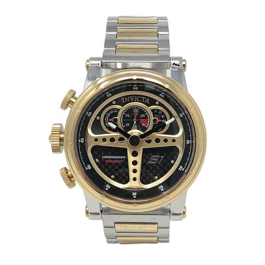 Invicta S1 Rally Chronograph Quartz Black Dial Men's Watch 30578 | Joma Shop