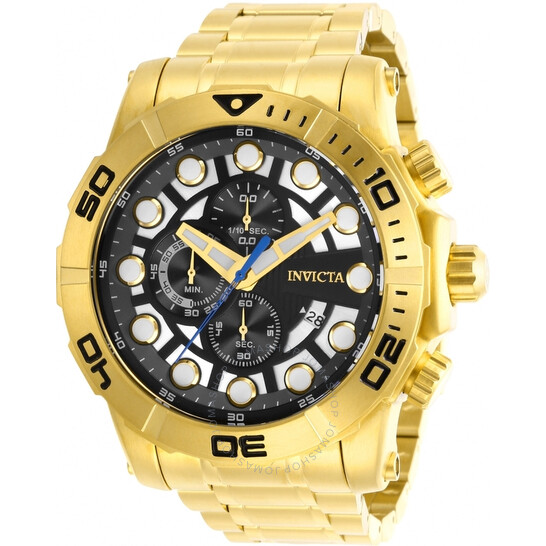 Invicta Sea Hunter Chronograph Quartz Black Dial Men's Watch 28264   Joma Shop