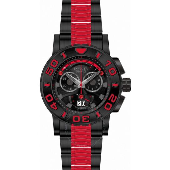 Invicta SHAQ Chronograph Quartz Black Dial Men's Watch 33760 | Joma Shop