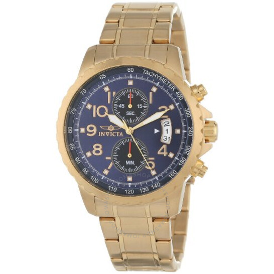 Invicta Specialty Blue Dial Men's Chronograph Watch 13785   Joma Shop