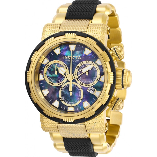 Invicta Specialty Chronograph Black Mother of Pearl Dial Men's Watch 28799 | Joma Shop