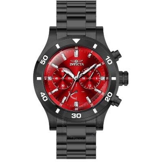 Invicta Specialty Chronograph Quartz Red Dial Men's Watch 28891   Joma Shop