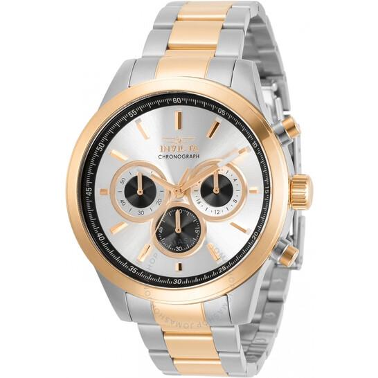 Invicta Specialty Chronograph Quartz Silver Dial Men's Watch 30983 | Joma Shop