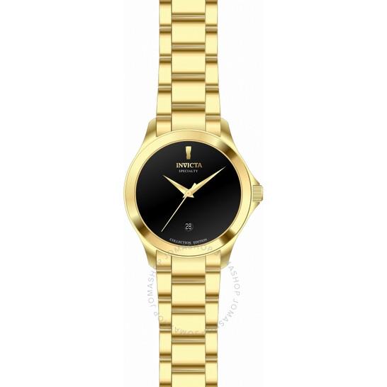 Invicta Specialty Quartz Black Dial Men's Watch 31121   Joma Shop