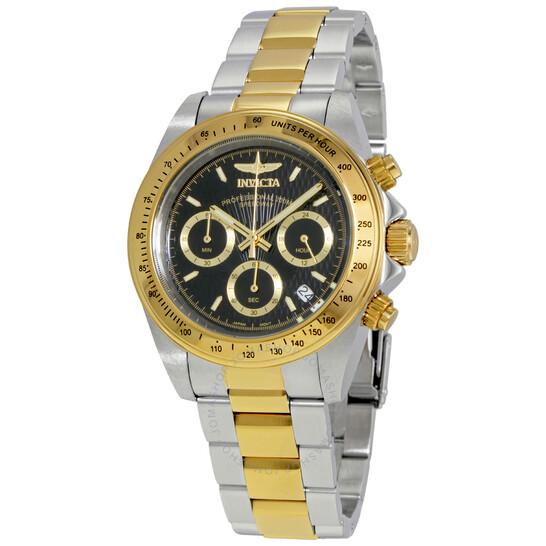 Invicta Speedway Chronograph Black Dial Men's Watch 9224 | Joma Shop