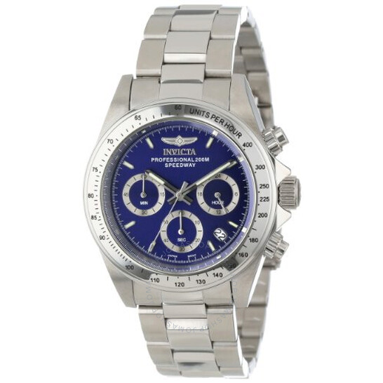 Invicta Speedway Chronograph Blue Dial Stainless Steel Men's Watch 14382   Joma Shop