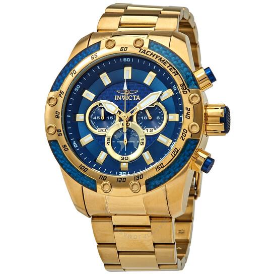 Invicta Speedway Chronograph Quartz Blue Dial Men's Watch 28659 | Joma Shop