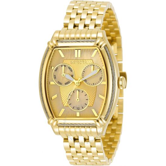 Invicta Wildflower Quartz Champagne Dial Ladies Watch 30864   Joma Shop